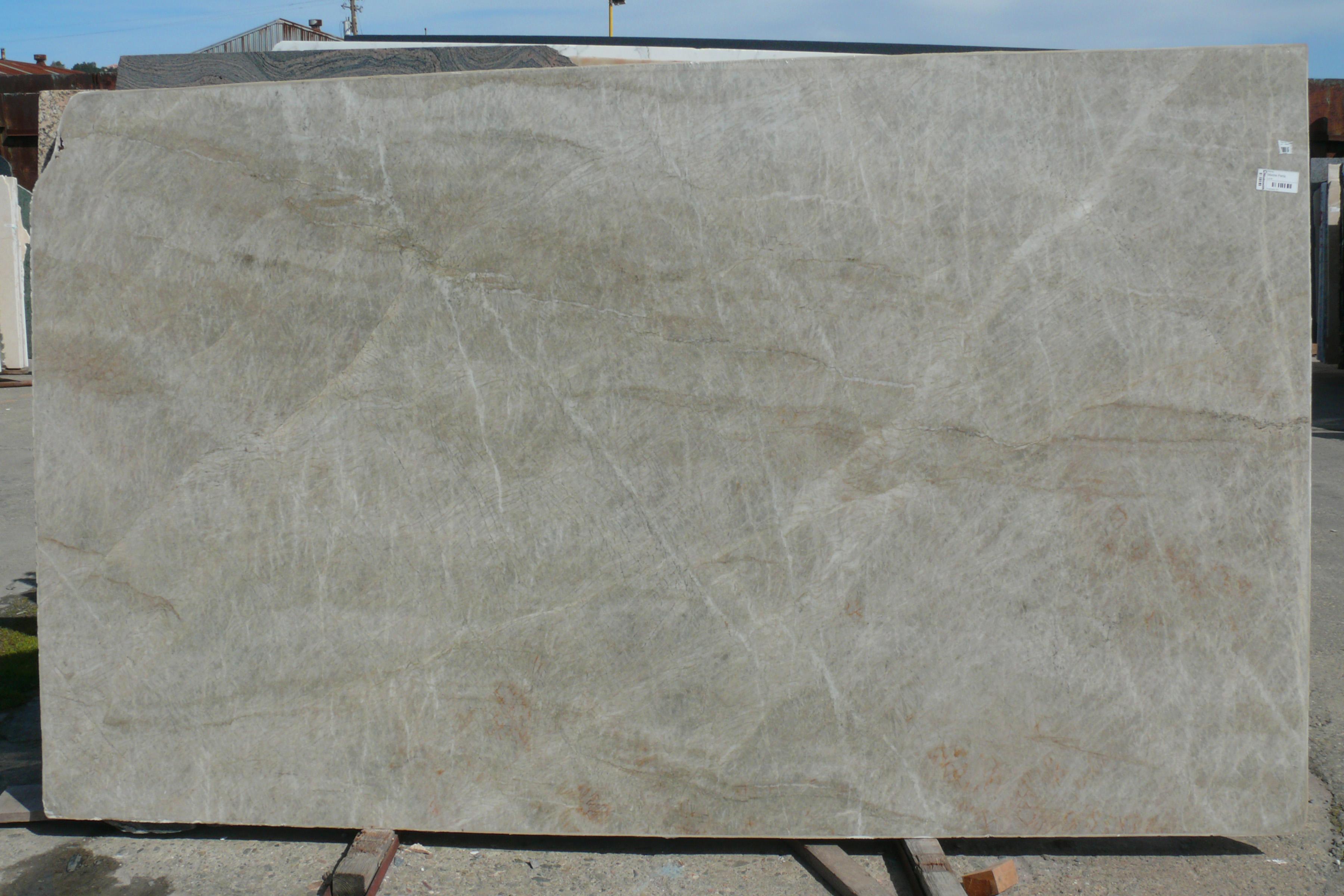 Madre Pearla Quartzite Slab Grey Polished Brazil Fox Marble