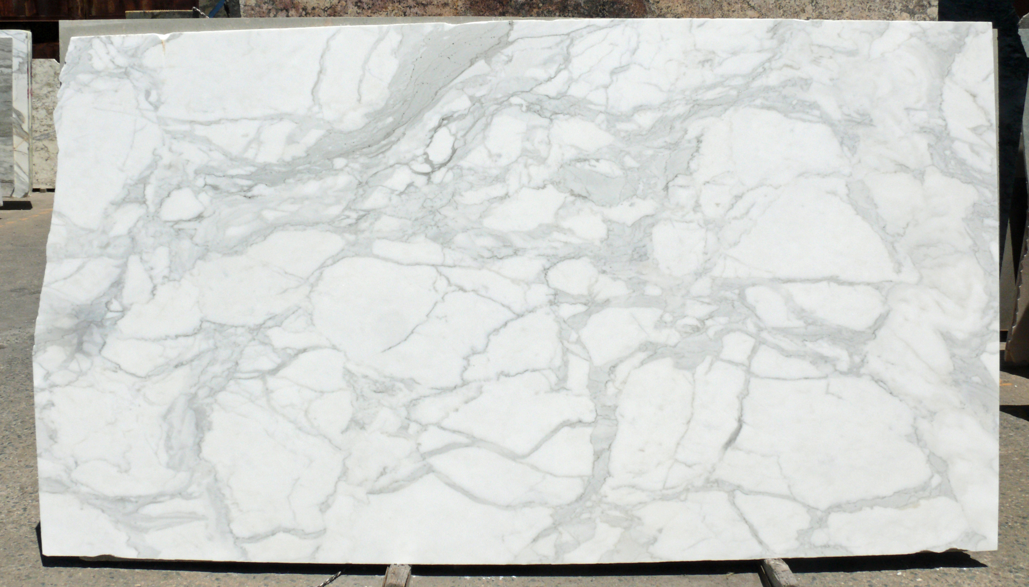 Calacatta Gold Select Slab Honed White Itlay Fox Marble